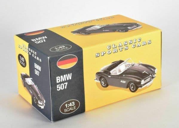 Atlas KL03 1/43 Scale Classic Sports Cars BMW 507 - Black